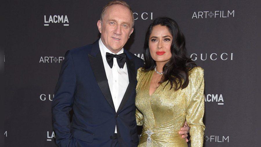 Salma Hayek ist seit 2009 mit François-Henri Pinault verheiratet. (wag/spot)