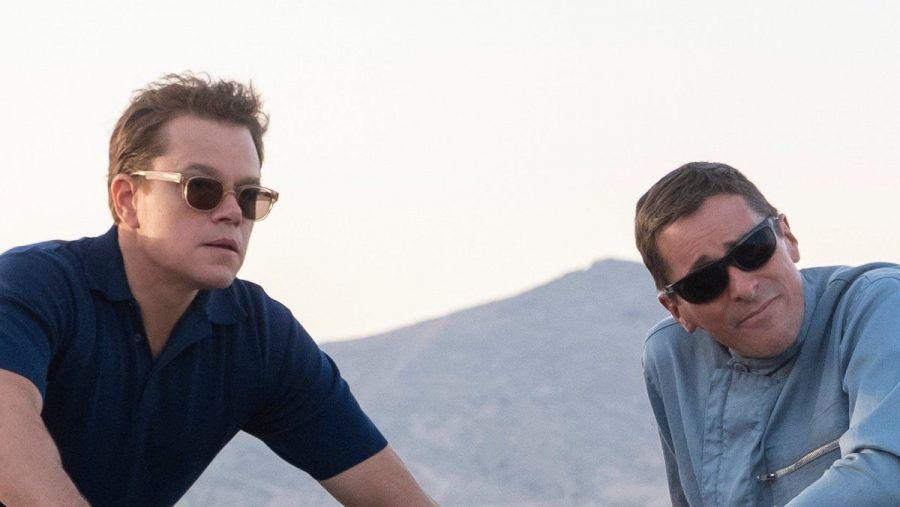 Christian Bale (r.) und Matt Damon mimen die stets zankenden Freunde und Kollegen Ken Miles und Carroll Shelby. (cam/spot)