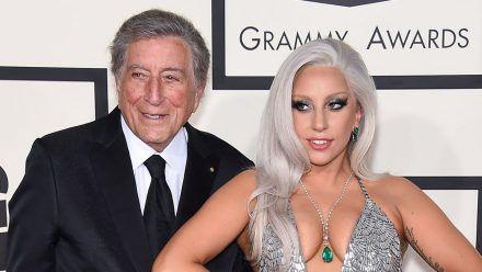 Tony Bennett und Lady Gaga im Jahr 2015. (wue/spot)