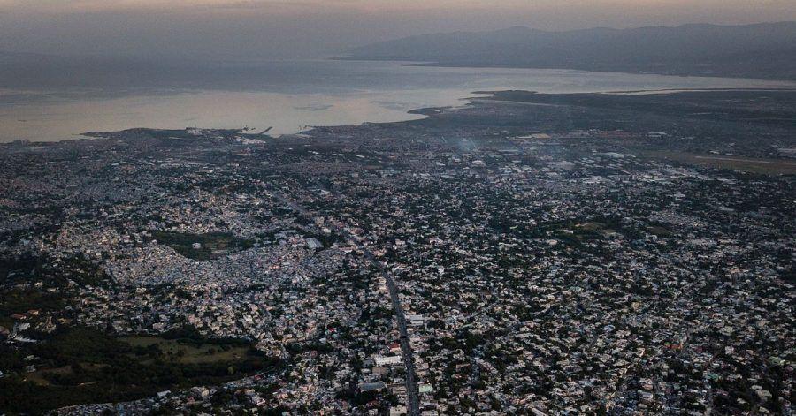 Blick auf Port-au-Prince. Ein schweres Erdbeben hat den Süden des Karibikstaats Haitis erschüttert.