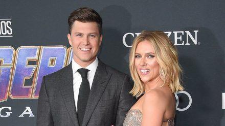 Colin Jost und Scarlett Johansson haben 2020 geheiratet. (hub/spot)