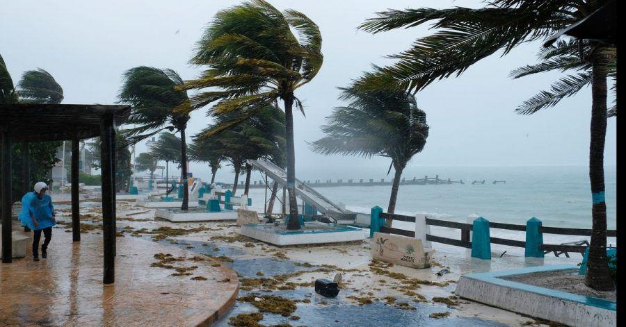 Der Hurrikan «Grace» hat auf der bei Urlaubern beliebten mexikanischen Halbinsel Yucatán weitreichende Stromausfälle verursacht.