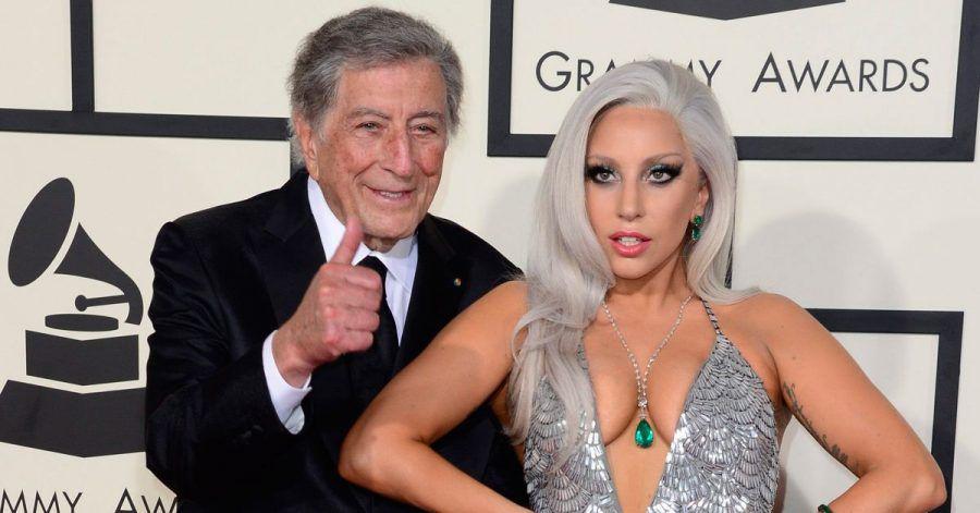 Tony Bennett und Lady Gaga nehmen zusammen eine neuePlatte auf.