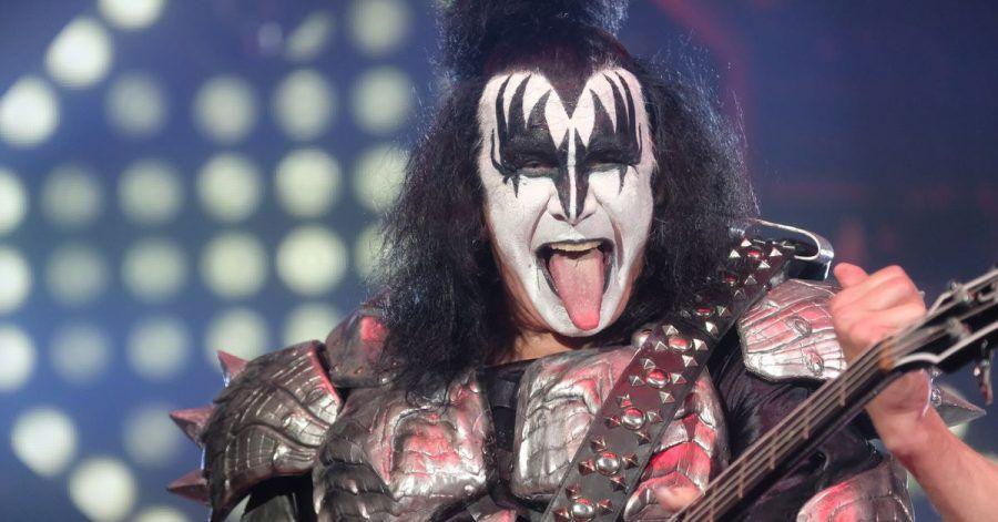 Gene Simmons beim Auftaktkonzert der Deutschland-Tour «End of the Road» 2019. Der Bassist der US-amerikanischen Band «Kiss» ist positiv auf Corona getestet worden.