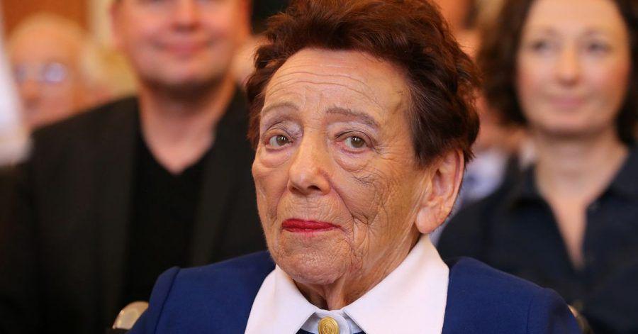 Die Holocaust-Überlebende Inge Deutschkron (2018).