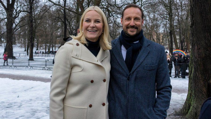 20 Jahre Mette-Marit und Haakon von Norwegen (mia/spot)