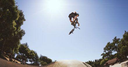 Klassiker unter den Fun-Bikes - das BMX, hier von Verde Bikes.