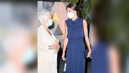 In Palma trafen Königin Letizia und Judi Dench bei der Abschlussveranstaltung des Atlantida Film Fests aufeinander. (hub/spot)