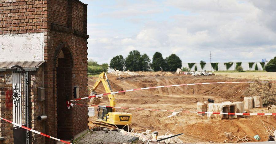 In Erftstadt tat sich in der Nacht zum 15. Juli die Erde auf und verschlang mehrere Häuser.