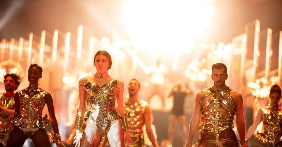 Tänzer proben im Friedrichstadt-Palast Berlin für die «Arise» Grand Show.