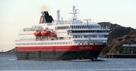 Die «Kong Harald» ist eines von rund einem Dutzend Schiffe der Hurtigruten.