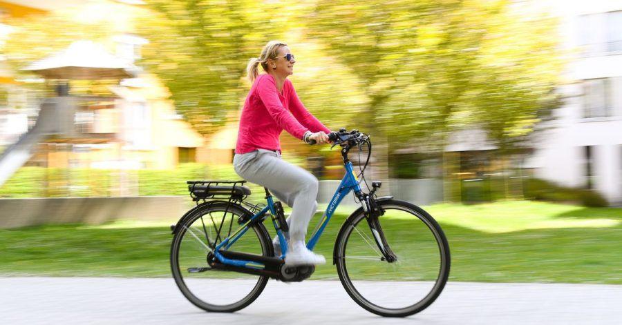 17 Prozent der Deutschen besitzen ein E-Bike.