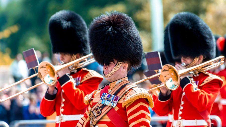 Die Wachen des Buckingham Palast. (smi/spot)