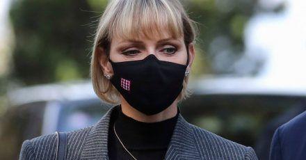 Ließ sich in Südafrika operieren: Fürstin Charlene von Monaco.