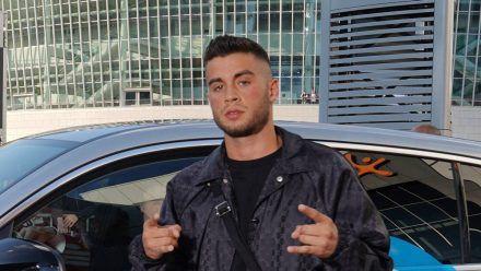 Rapper Jamule war mit Luna Schweiger im Unfallauto.  (ili/spot)