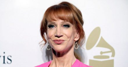 US-Schauspielerin Kathy Griffin auf einer Gala in Beverly Hills. Sie verkündete neulich, dass sie an Krebs erkrankt ist.