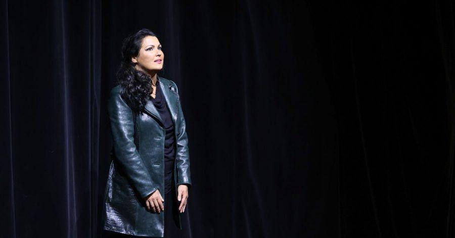 Salzburger Festspiele: Anna Netrebko beim Schlussapplaus der Oper «Tosca».