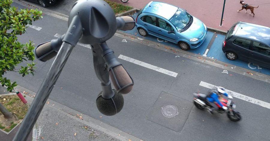 Der neue Lärmradar «Méduse»: Frankreich testet eine neue Radarfalle, die es auf lärmende Motorräder und Autos abgesehen hat.