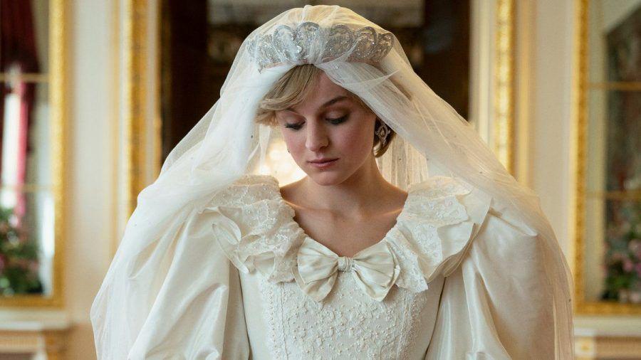 "Emma Corrin als Prinzessin Diana in ""The Crown"". (wue/spot)"