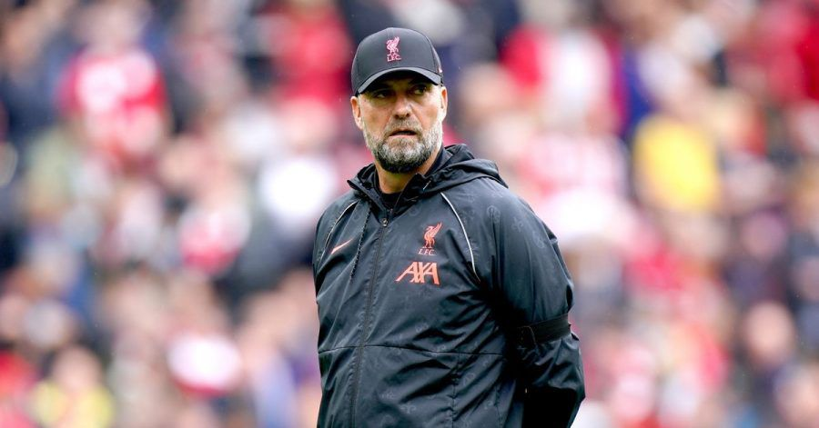 Trainer Jürgen Klopp vom FC Liverpool ohne Brille.