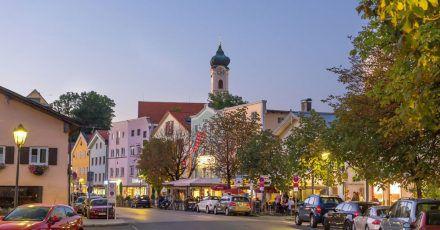 Bad Aibling ist eine der beliebtesten Kurstädte Bayerns.