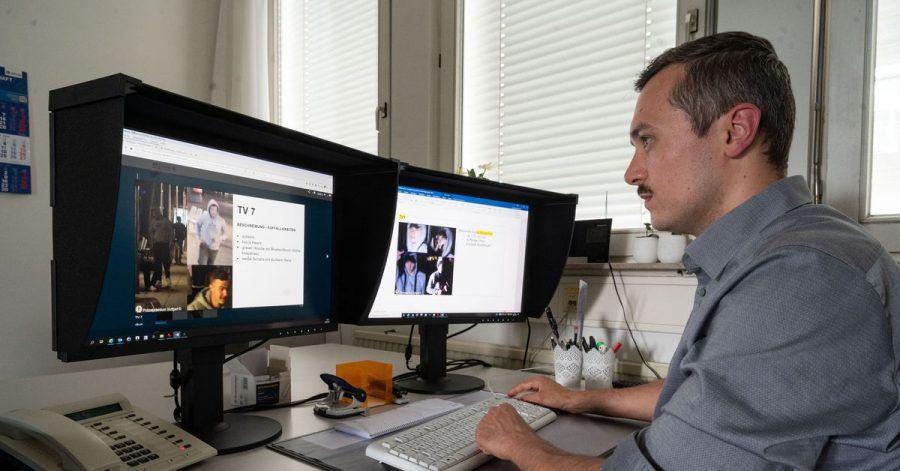 Michael Aschenbrenner arbeitet als «Super-Recogniser» für die Polizei: Er kann besonders gut Gesichter wiedererkennen.