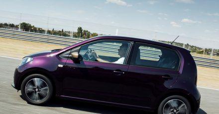 Mini Mii: Der Stadtfloh von Seat rangiert von der Größe her noch unter dem Kleinwagen Ibiza.