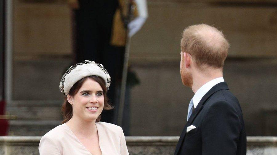 Prinzessin Eugenie mit ihrem Cousin Prinz Harry. (dr/spot)