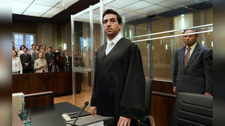 """""""Der Fall Collini"""": Der junge Anwalt Caspar Leinen (Elyas M'Barek) übernimmt ein scheinbar hoffnungsloses Mandat. (cg/spot)"""