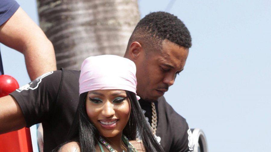 Nicki Minaj und Kenneth Petty im vergangenen Jahr. (wue/spot)