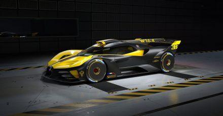 Der Bugatti Bolide soll in einer Kleinserie von 40 Fahrzeugen gebaut werden. Der französische Hersteller taxiert den Preis je Exemplar auf mindestens 4,8 Millionen Euro.