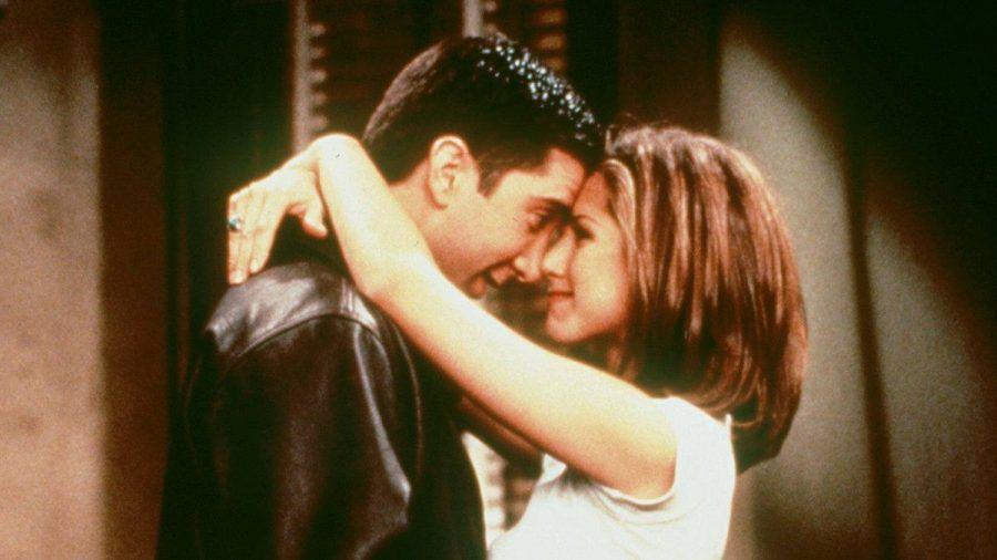 """""""Friends""""-Fans rund um den Globus fieberten einem Happy End für Ross (David Schwimmer) und Rachel (Jennifer Aniston) entgegen. (stk/spot)"""