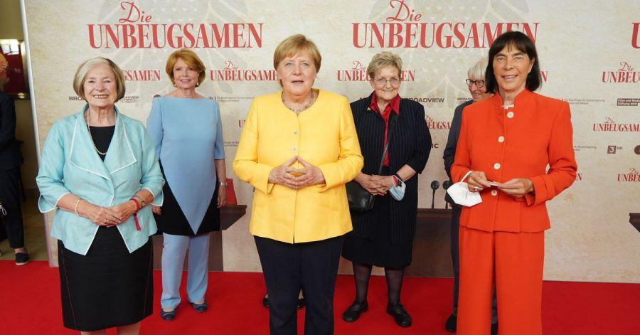 Angela Merkel bei der Weltpremiere der Dokumentation «Die Unbeugsamen».