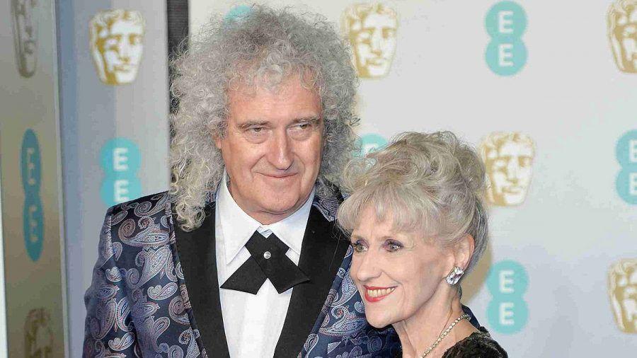 Brian May mit seiner Gattin Anita.
