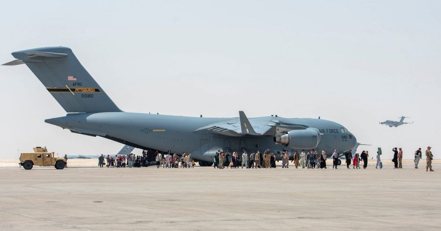 Die Transportflugzeuge vom Typ Boeing C-17 der US-Luftwaffe nutzen oft das Rufzeichen «Reach».