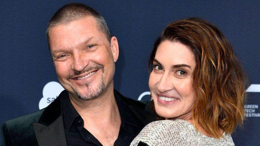Hardy Krüger Jr. und seine Frau Alice im vergangenen Jahr (wue/spot)