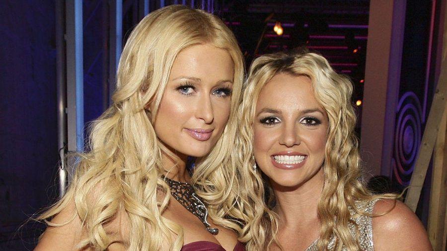 Paris Hilton (l.) und Britney Spears gemeinsam bei den MTV Video Music Awards im Jahr 2008. (dr/spot)