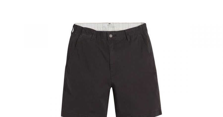 Ja, man trägt sie im kommenden Winter:Shorts tauchen in den aktuellen Modekollektionen für denMann auf, wie auch dieses Beispiel von Levis (ca. 50 Euro).