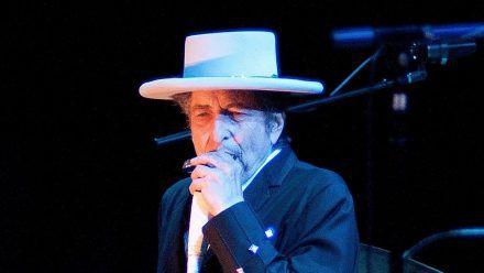 Bob Dylan bei einem Auftritt 2012 (tae/spot)