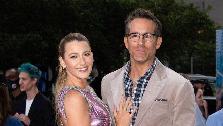 """Ryan Reynolds und seine Ehefrau Blake Lively auf der Weltpremiere von """"Free Guy"""". (wue/spot)"""