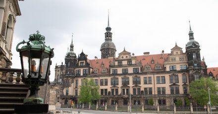 Das Residenzschloss mit dem Grünen Gewölbe war Schauplatz eines spektakulären Kunstdiebstahls.