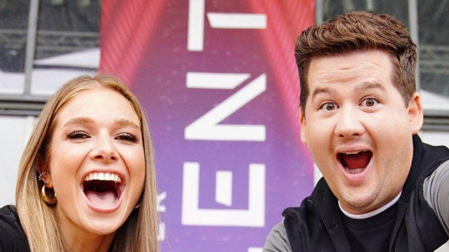"""Lola Weippert und Chris Tall sind die neuen Moderatoren von """"Das Supertalent"""". (tae/spot)"""