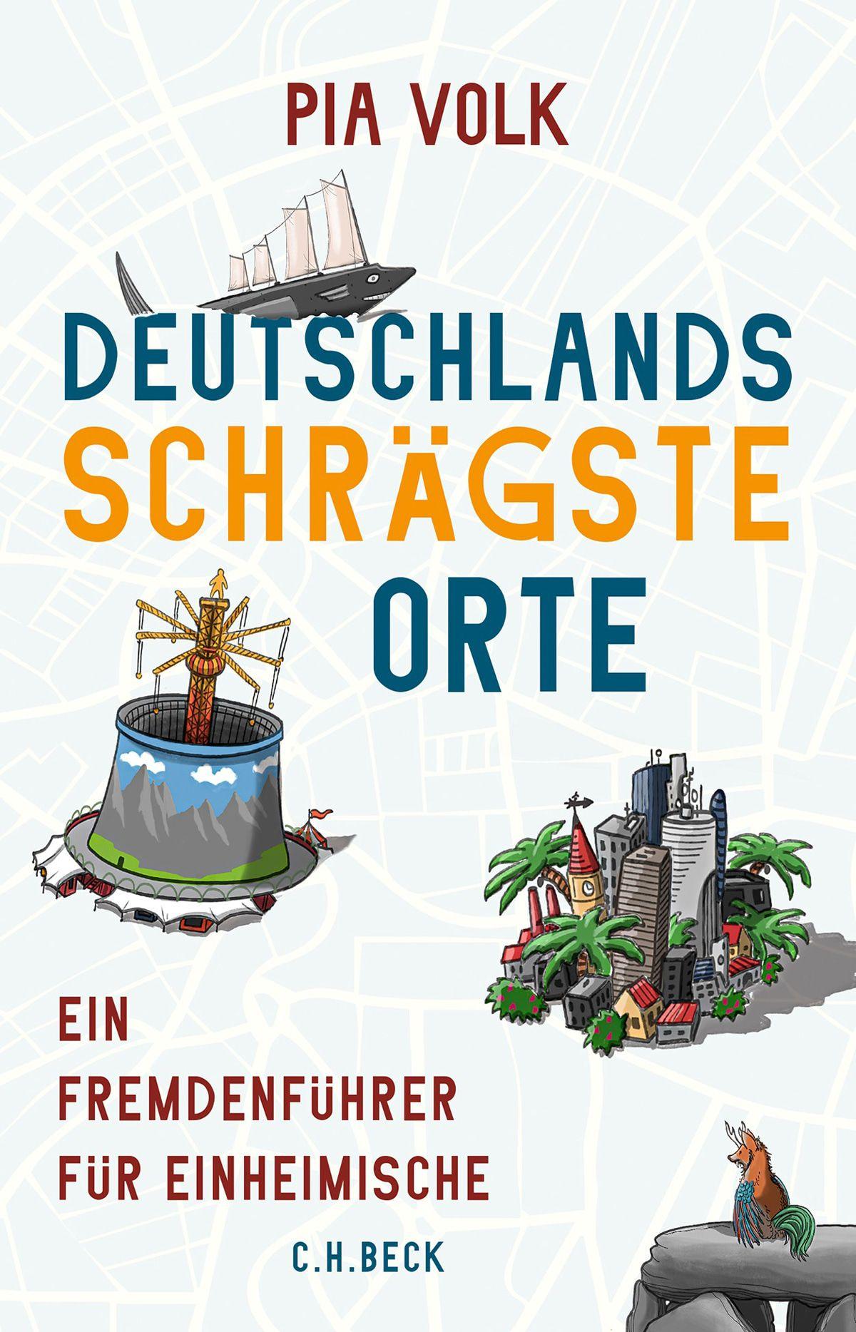 Verrücktes Buch: Deutschlands schrägste Orte
