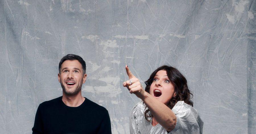 Jochen Schropp (l) und Marlene Lufen moderieren «Promi Big Brother».
