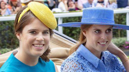 Prinzessin Eugenie (l.) und Prinzessin Beatrice im Jahr 2019 (wue/spot)