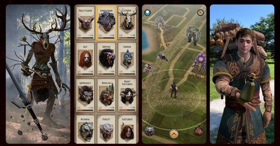 Kämpfen, Monster kennenlernen, sich in der Welt begegnen und Aufgaben erfüllen. So lässt sich «The Witcher:Monster Slayer» gut zusammenfassen.