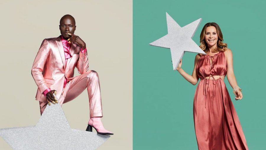 """Gitta Saxx und Supermodel Papis Loveday sind zwei der vier neuen """"Promi Big Brother""""-Stars. (stk/spot)"""