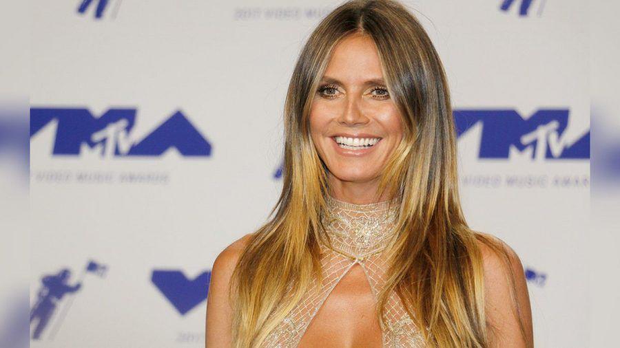 Heidi Klum freute sich über Lous spontane Aktion (mia/spot)