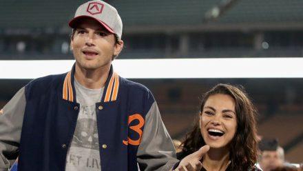 Ashton Kutcher und Mila Kunis haben nicht mit den absurden Folgen ihrer Beichte gerechnet. (stk/spot)