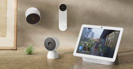 Angebote für das Smarthome: Googles Nest bringt neue Kameras in den Handel.